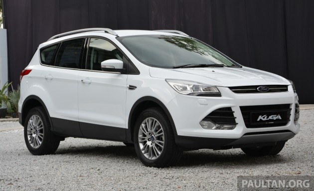 2013 Ford Kuga launched in Malaysia - 1.6L EcoBoost, RM160k
