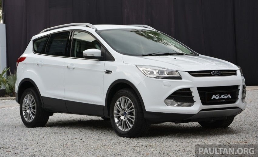 Ford Kuga launched – 1.6L EcoBoost, RM159,999 Image #178969