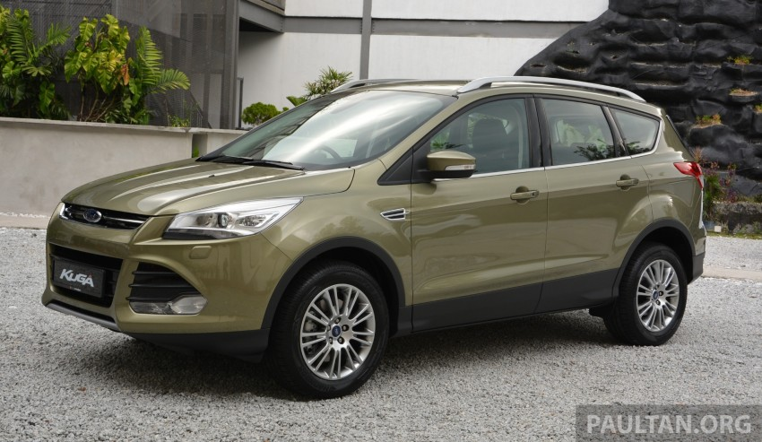 Ford Kuga launched – 1.6L EcoBoost, RM159,999 Image #178970