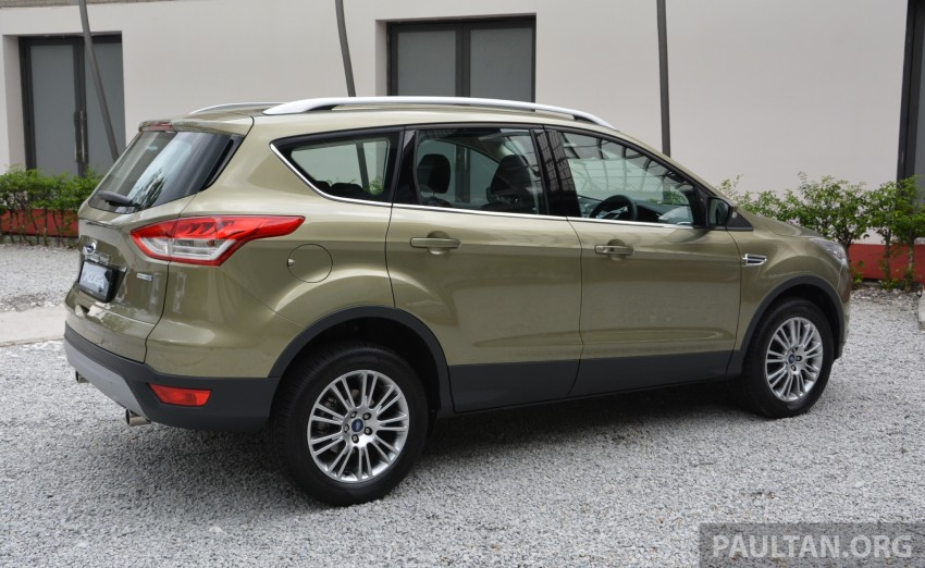 Ford Kuga launched – 1.6L EcoBoost, RM159,999 Image #178938
