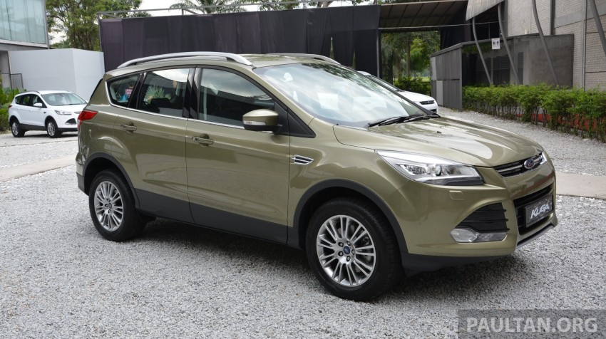 Ford Kuga launched – 1.6L EcoBoost, RM159,999 Image #178940