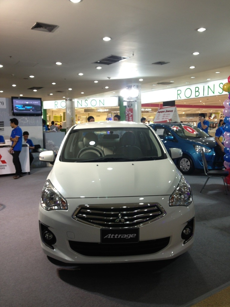 Mitsubishi Attrage previewed ahead of Thai launch Image #178795