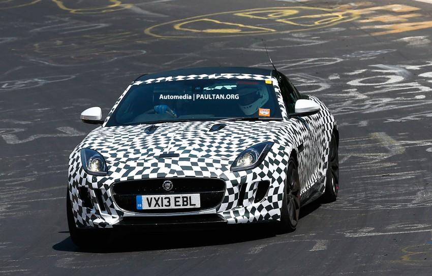 SPYSHOTS: Jaguar F-Type Coupe at the Nurburgring Image #181647
