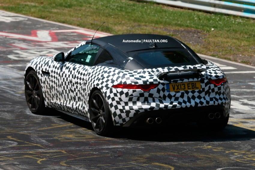 SPYSHOTS: Jaguar F-Type Coupe at the Nurburgring Image #181653