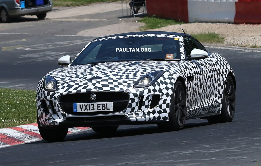 SPYSHOTS: Jaguar F-Type Coupe at the Nurburgring Image #181659