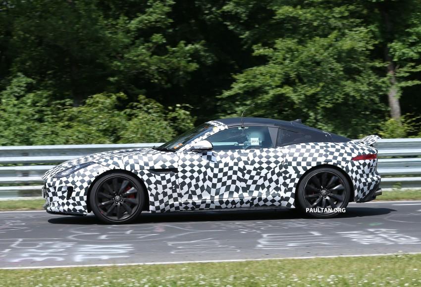 SPYSHOTS: Jaguar F-Type Coupe at the Nurburgring Image #181663