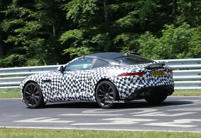 SPYSHOTS: Jaguar F-Type Coupe at the Nurburgring Image #181665