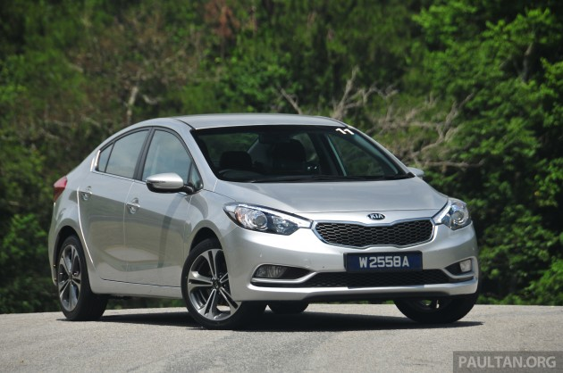 DRIVEN     Kia       Cerato    16 and 20 reviewed on Malaysian roads