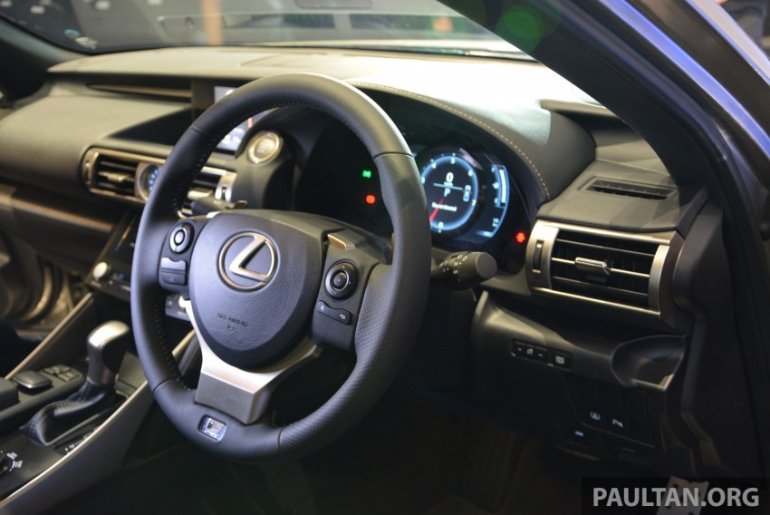 New Lexus IS launched – four variants, from RM270k Image #183011
