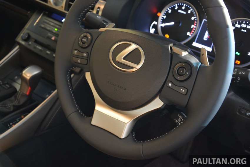 New Lexus IS launched – four variants, from RM270k Image #183023
