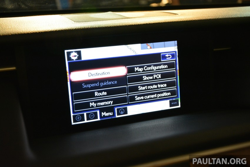 New Lexus IS launched – four variants, from RM270k Image #183028