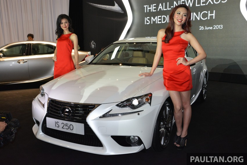 New Lexus IS launched – four variants, from RM270k Image #183031