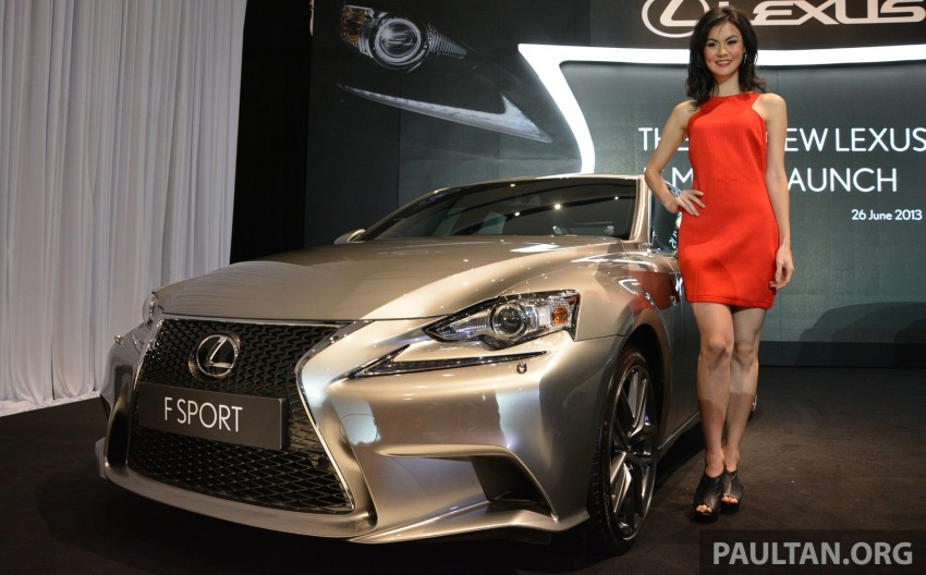 New Lexus IS launched – four variants, from RM270k Image #183033