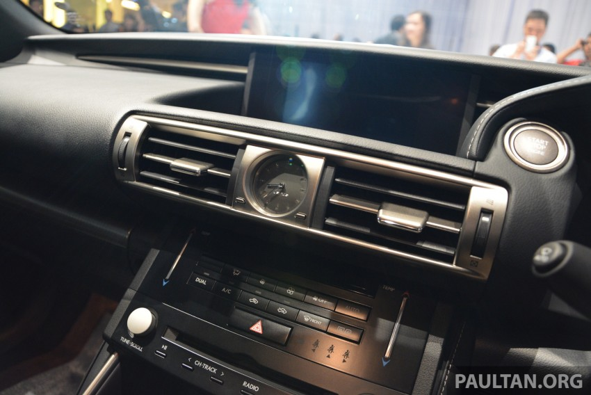 New Lexus IS launched – four variants, from RM270k Image #183036