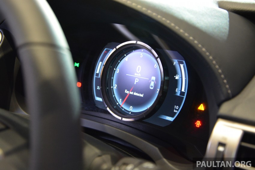 New Lexus IS launched – four variants, from RM270k Image #183013