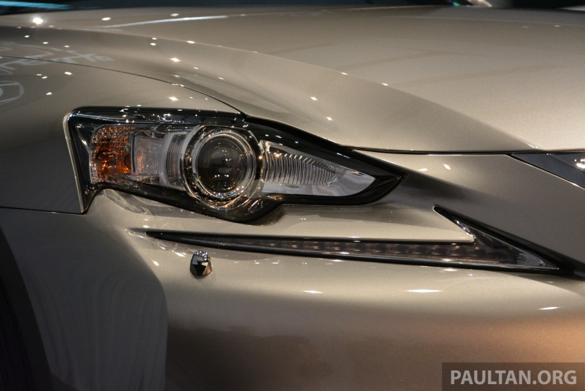 New Lexus IS launched – four variants, from RM270k Image #183039