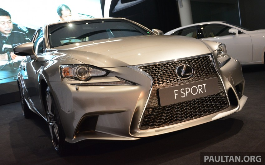 New Lexus IS launched – four variants, from RM270k Image #183041