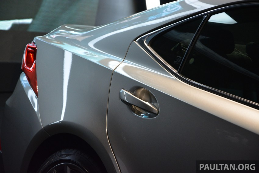 New Lexus IS launched – four variants, from RM270k Image #183042