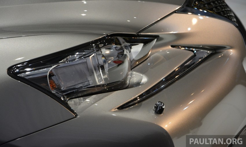 New Lexus IS launched – four variants, from RM270k Image #183043
