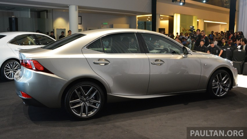 New Lexus IS launched – four variants, from RM270k Image #183047