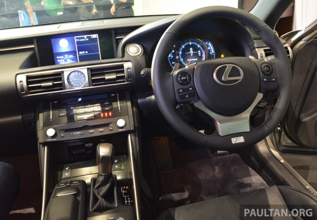 cb32975f564 Lexus IS 2013 launched in Malaysia - 4 variants