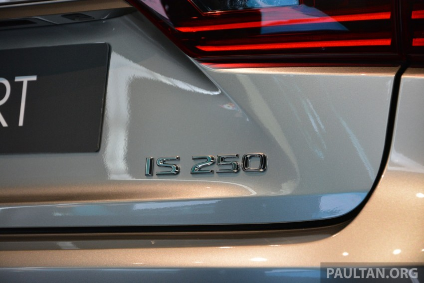 New Lexus IS launched – four variants, from RM270k Image #183048
