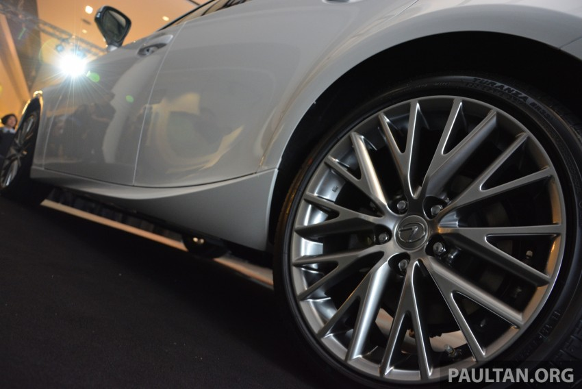 New Lexus IS launched – four variants, from RM270k Image #183049