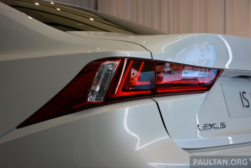 New Lexus IS launched – four variants, from RM270k Image #183050