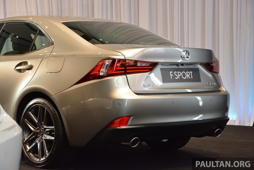 New Lexus IS launched – four variants, from RM270k Image #183051