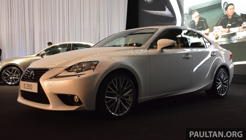 New Lexus IS launched – four variants, from RM270k Image #183052