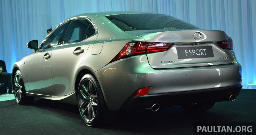 New Lexus IS launched – four variants, from RM270k Image #183053