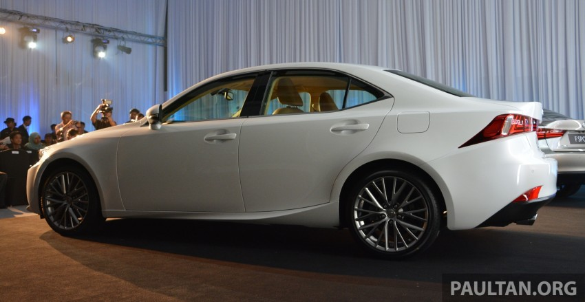 New Lexus IS launched – four variants, from RM270k Image #183064