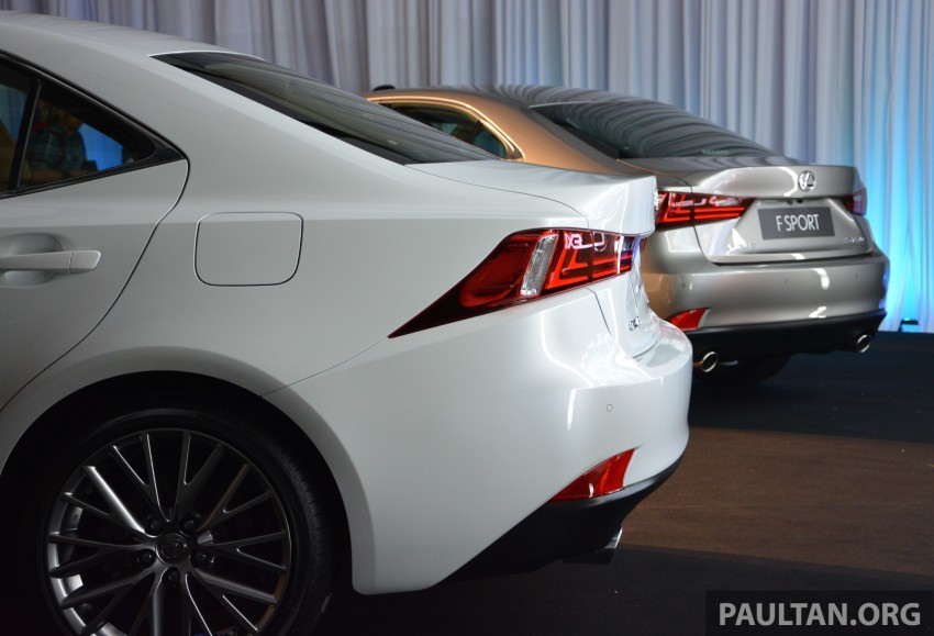New Lexus IS launched – four variants, from RM270k Image #183054