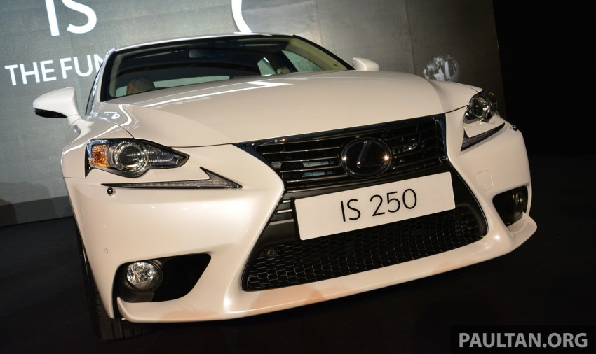 New Lexus IS launched – four variants, from RM270k Image #183056