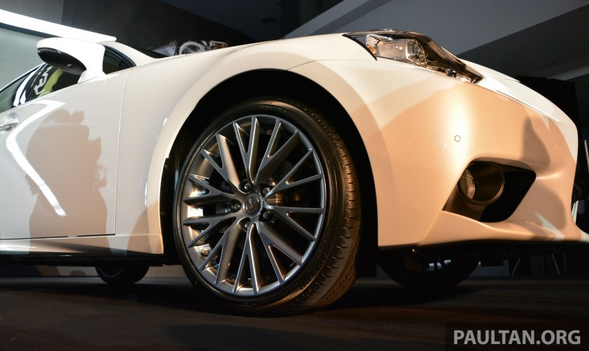 New Lexus IS launched – four variants, from RM270k Image #183057