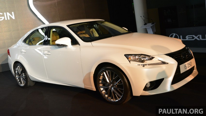 New Lexus IS launched – four variants, from RM270k Image #183058