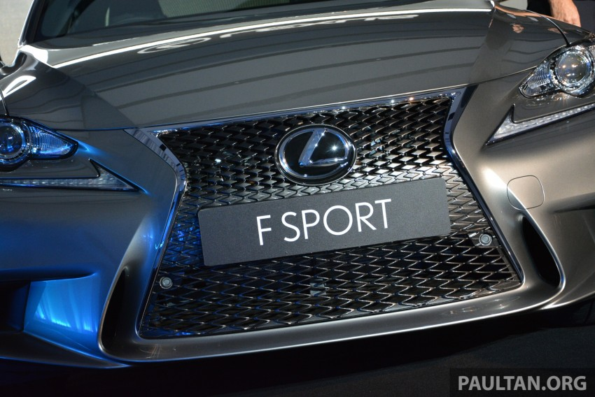 New Lexus IS launched – four variants, from RM270k Image #183059