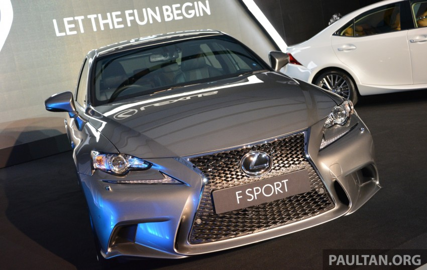 New Lexus IS launched – four variants, from RM270k Image #183060