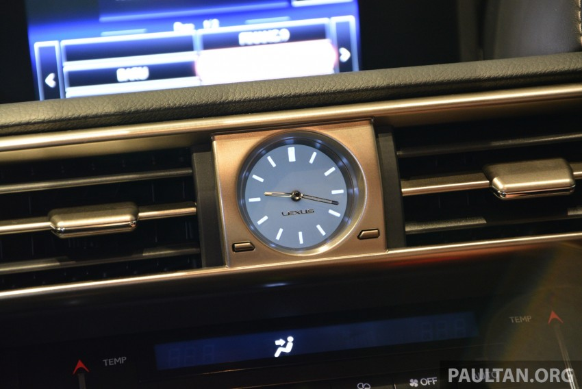 New Lexus IS launched – four variants, from RM270k Image #183016