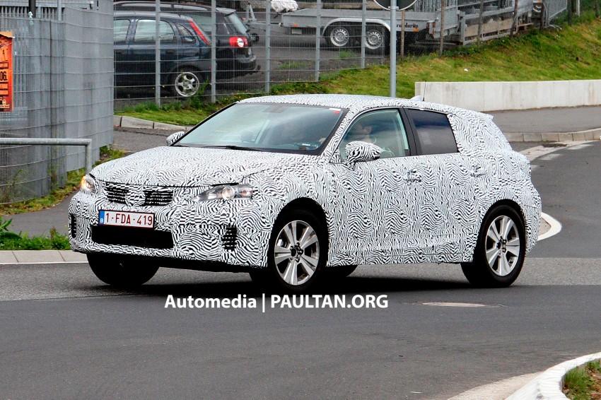 Lexus NX compact SUV prototype undergoing tests Image #182824