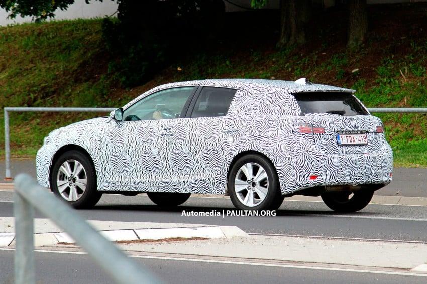 Lexus NX compact SUV prototype undergoing tests Image #182826