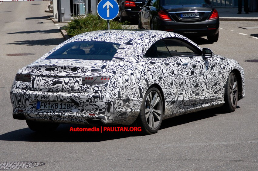 C217 Mercedes-Benz S-Class Coupe – new exterior details and first glimpse of interior Image #180364