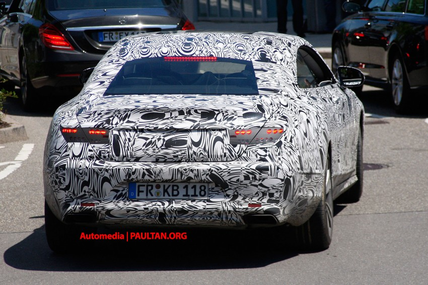 C217 Mercedes-Benz S-Class Coupe – new exterior details and first glimpse of interior Image #180365