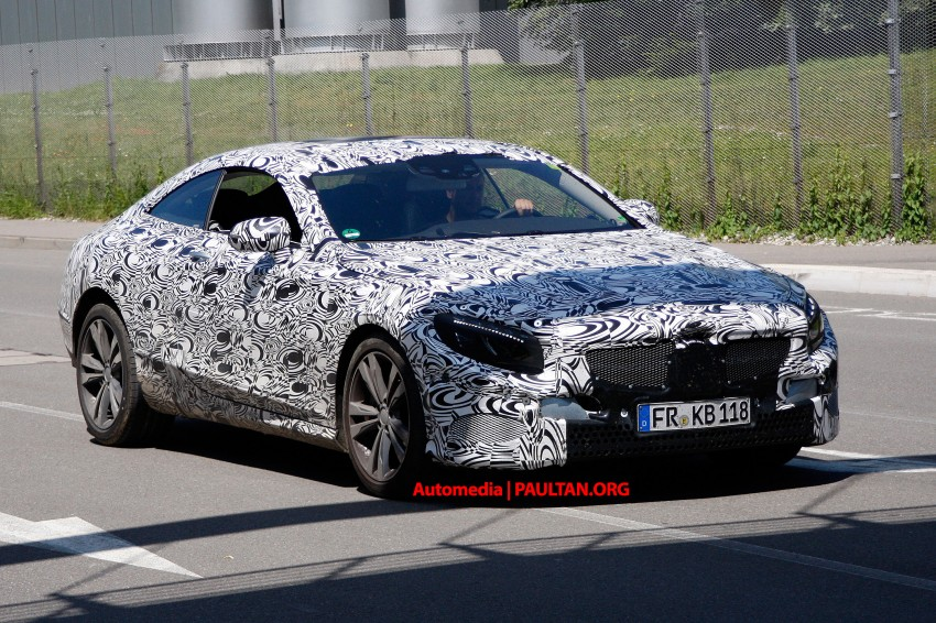 C217 Mercedes-Benz S-Class Coupe – new exterior details and first glimpse of interior Image #180367