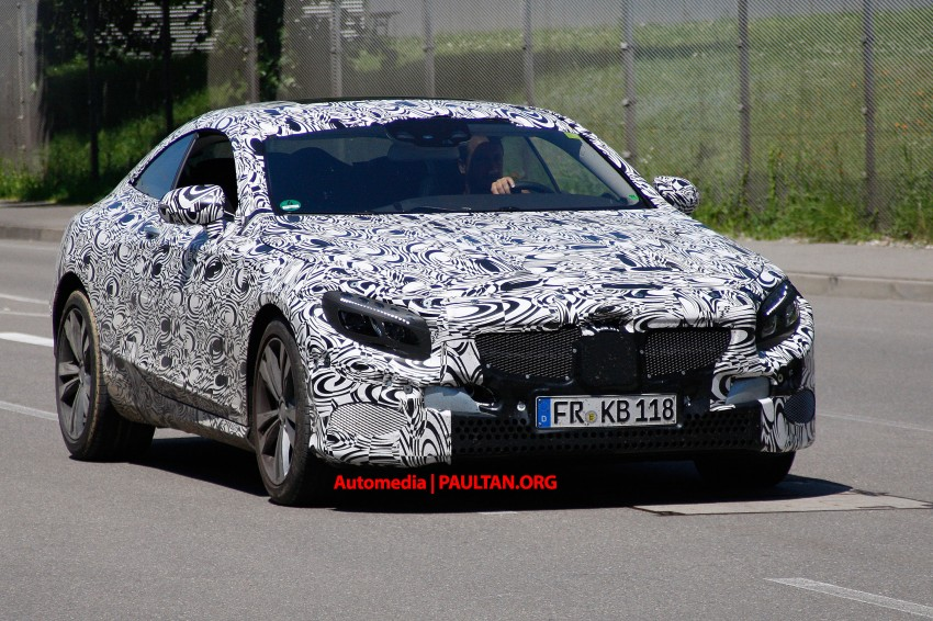 C217 Mercedes-Benz S-Class Coupe – new exterior details and first glimpse of interior Image #180368