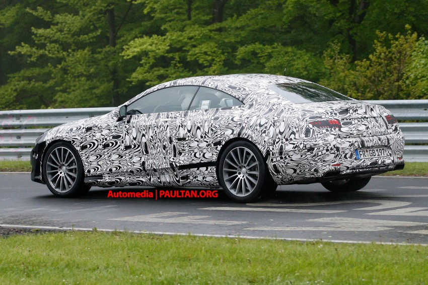C217 Mercedes-Benz S-Class Coupe – new exterior details and first glimpse of interior Image #180369