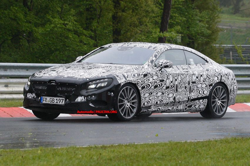 C217 Mercedes-Benz S-Class Coupe – new exterior details and first glimpse of interior Image #180372