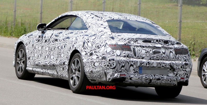 C217 Mercedes-Benz S-Class Coupe – new exterior details and first glimpse of interior Image #180374