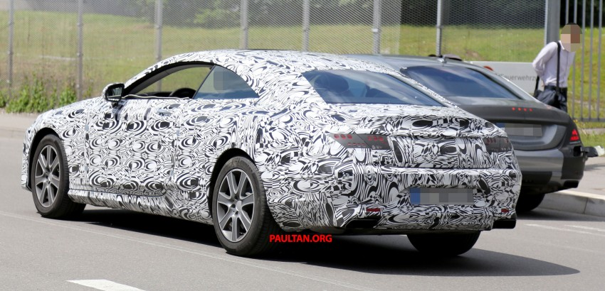 C217 Mercedes-Benz S-Class Coupe – new exterior details and first glimpse of interior Image #180375