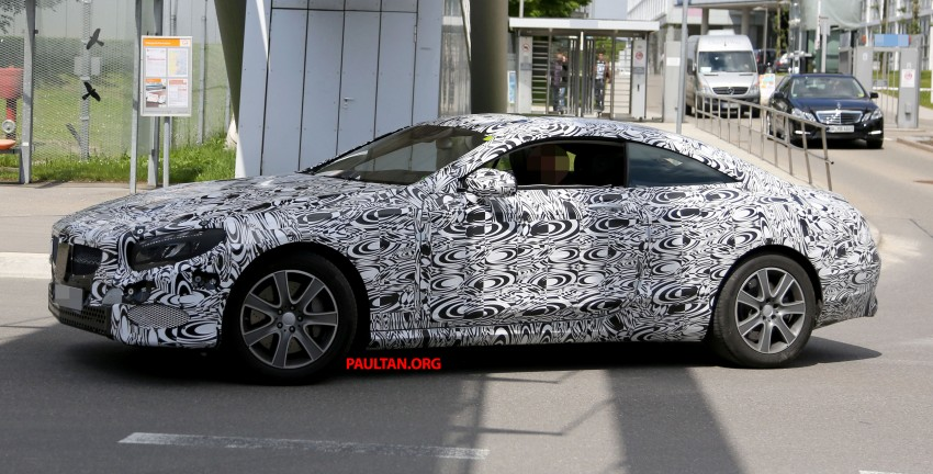 C217 Mercedes-Benz S-Class Coupe – new exterior details and first glimpse of interior Image #180378
